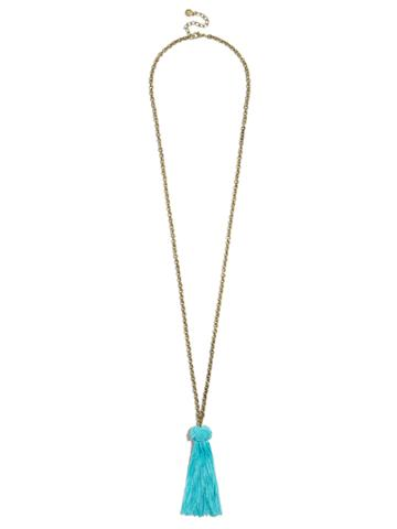 BaubleBar Tashina Tassel Pendant Necklace