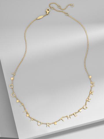 BaubleBar True Story Everyday Fine Necklace