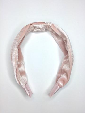 BaubleBar Blush Knot Headband