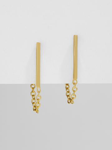 BaubleBar Anello Everyday Fine Earrings