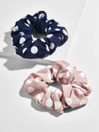BaubleBar Dot Hair Scrunchie Set