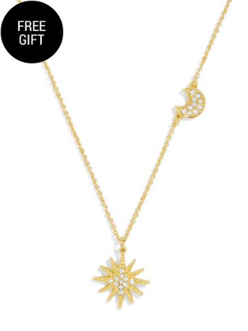 BaubleBar On-Point Pendant Necklace