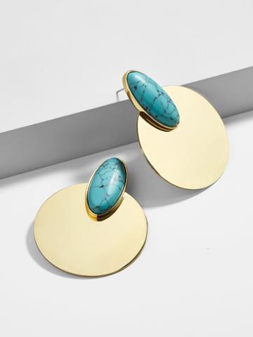 BaubleBar Saffron Drop Earrings