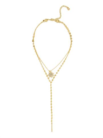 BaubleBar Cosmos Layered Necklace