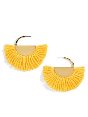 BaubleBar Bonita Drop Earrings-Yellow