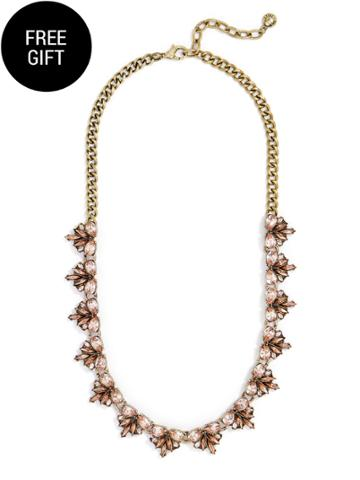 BaubleBar Julianna Collar-Silk