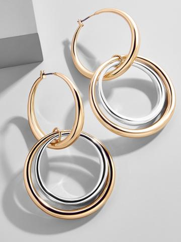 BaubleBar Rianne Hoop Earrings