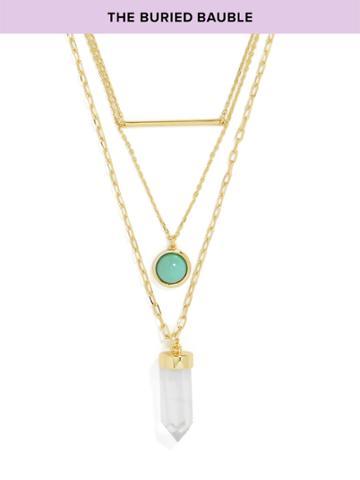 BaubleBar Catia Layered Necklace