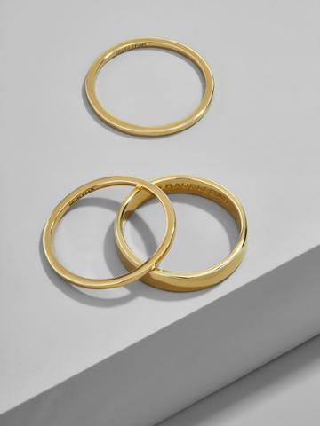 BaubleBar Tris Everyday Fine Stacking Ring Set
