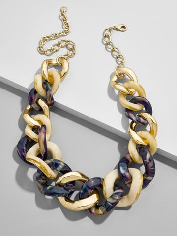 BaubleBar Fabia Linked Statement Necklace