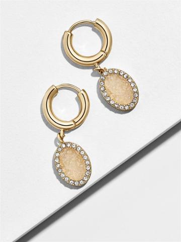 BaubleBar Aura Huggie Hoop Earrings