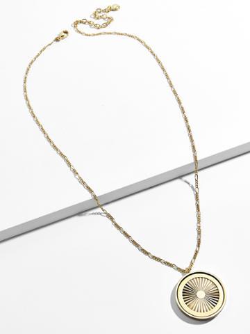 BaubleBar Journey Pendant Necklace