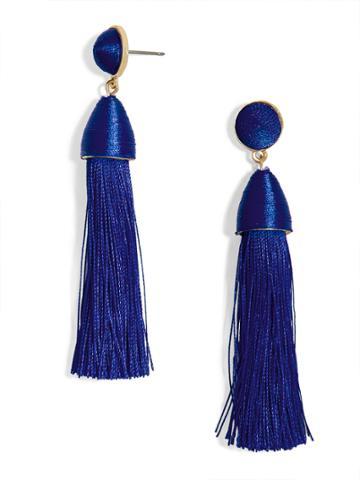 BaubleBar Rosabella Tassel Earrings