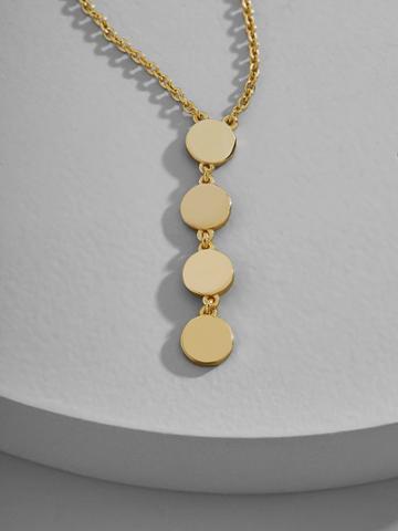 BaubleBar Via Everyday Fine Pendant Necklace