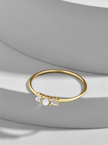 BaubleBar Opalescent Everyday Fine Stacking Ring