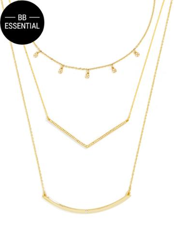 BaubleBar Layered Necklace Set