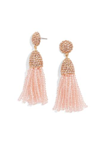 BaubleBar Mini Gem Pinata Tassel Earrings
