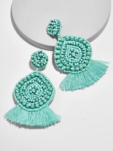 BaubleBar Mietta Drop Earrings-Turquoise