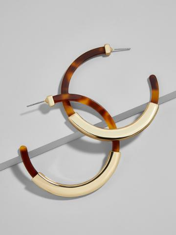BaubleBar Tassiana Hoop Earrings