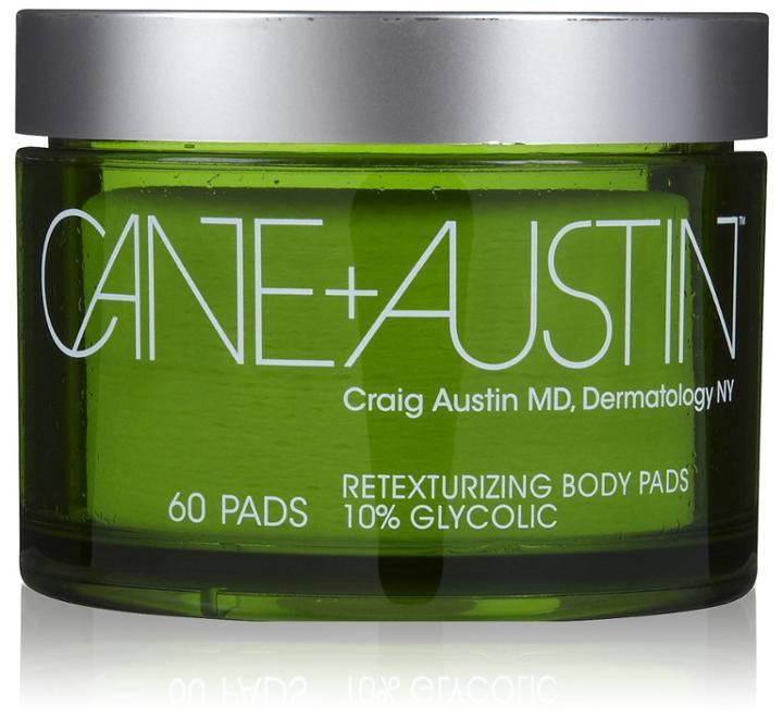 Cane + Austin Retexturizing Treatment Pads For Body, 10% Glycolic