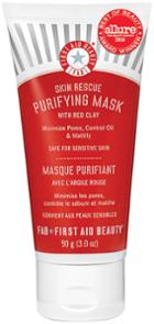 First Aid Beauty Skin Rescue Purifying Mask With Red Clay- 3 Oz