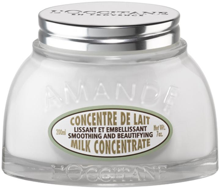 L'occitane Almond Smoothing Milk Concentrate Body Cream