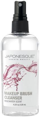 Japonesque Rosewater Makeup Brush Cleanser - 4.25 Oz