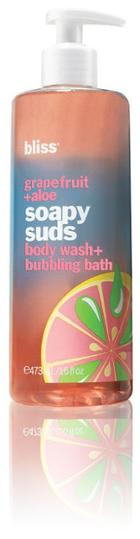Bliss Soapy Suds - Grapefruit + Aloe - 16 Oz