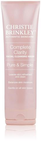 Christie Brinkley Complete Clarity Facial Cleansing Wash - 3 Oz