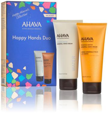 Ahava Happy Minerals Hand Cream Duo - 2 Ct