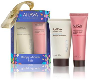 Ahava Happy Minerals Shower Gel And Hand Cream Ornament - 1 Ct