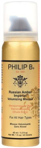 Philip B. Russian Amber Volumizing Mousse
