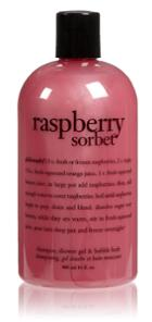 Philosophy Shampoo, Shower Gel & Bubble Bath - Raspberry Sorbet - 16 Oz