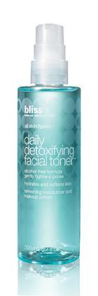 Bliss Daily Detoxifying Facial Toner- 6.7 Oz.
