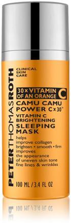 Peter Thomas Roth Camu Camu Power C X 30 Vitamin C Brightening Sleeping Mask - 3.4 Fl Oz