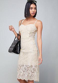 Bebe Brady Lace Dress