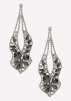 Bebe Glam Statement Earrings