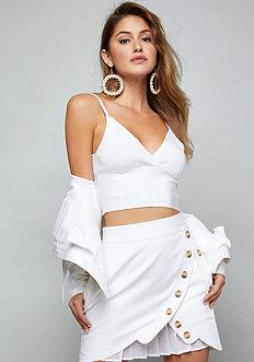 Bebe Bandage Crop Top