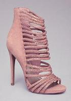 Bebe Crystal Strappy Sandals
