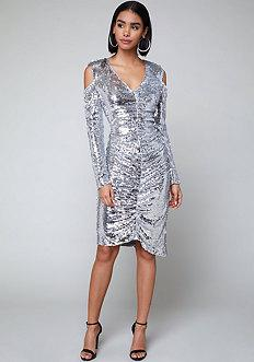 Bebe Gia Sequin Dress