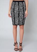 Bebe Emma Jacquard Skirt
