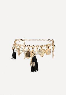 Bebe Multi-charm Bracelet