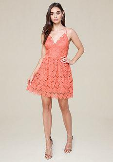 Bebe Valentina Lace Dress