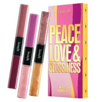 "Benefit Cosmetics ""peace, Love & Glossiness"""