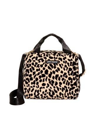 Steve Madden Prowlin Around Lunch Tote Natural