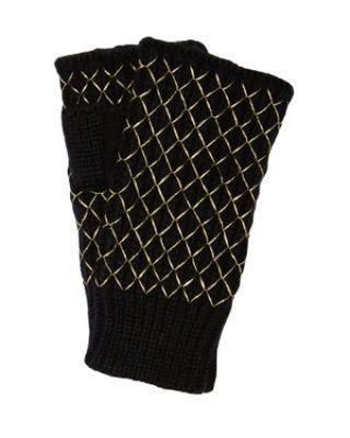 Steve Madden Net Worth Fingerless Gloves Grey