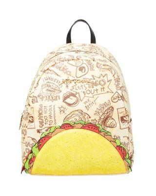 Steve Madden Kitsch Lets Taco About It Backpack Natural