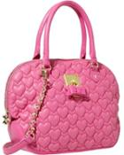 Steve Madden Always Be Mine Dome Satchel Pink