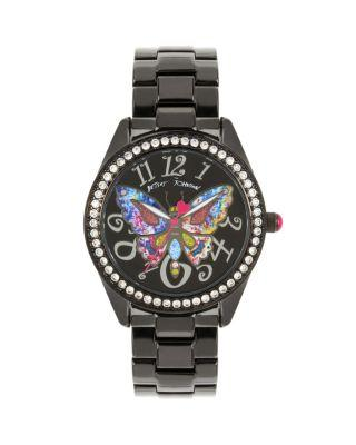 Steve Madden Butterfly Mosaic Black Watch Black