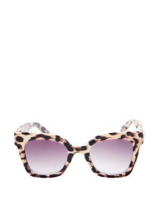 Steve Madden Vacay Days Sunglasses Leopard